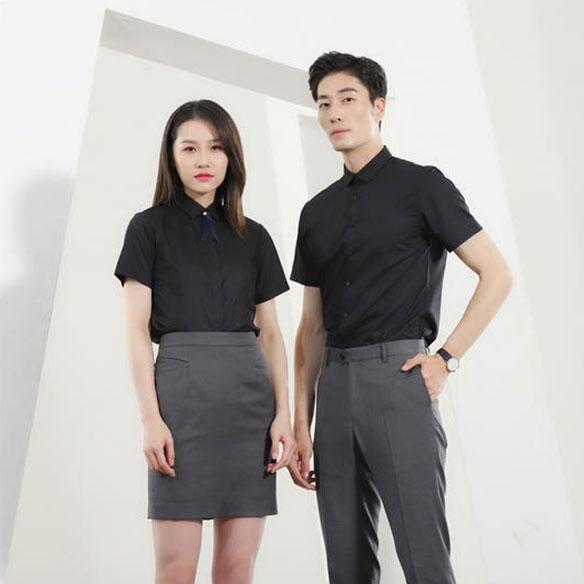 SLSS1-男女同款短袖衬衣