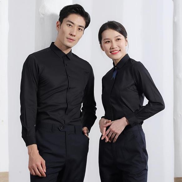 SLLS1-男女同款长袖衬衣