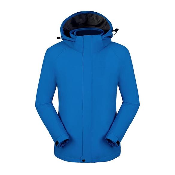 SLSC2-三合一纯色全热封冲锋衣