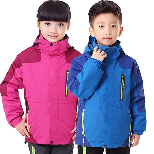 SLEC1-三合一儿童防水冲锋衣