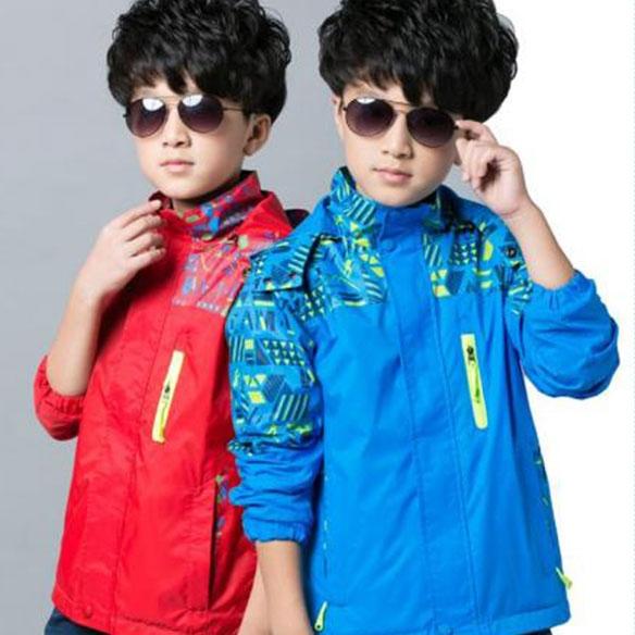SLEC4-三合一儿童单冲锋衣