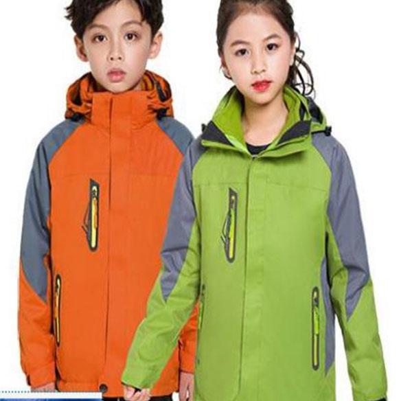 SLEC6-三合一儿童防水冲锋衣
