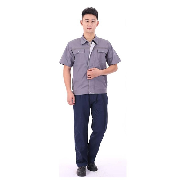 SLXD4-精品款内包边短袖工装