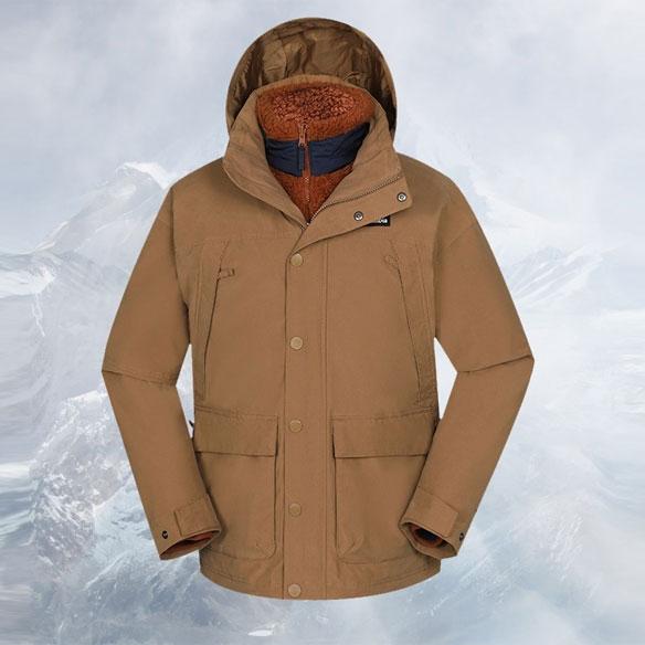 WE1326464-Columbia哥伦比亚男女装 2020秋冬新品户外运动休闲舒适透气冲锋衣夹克外套